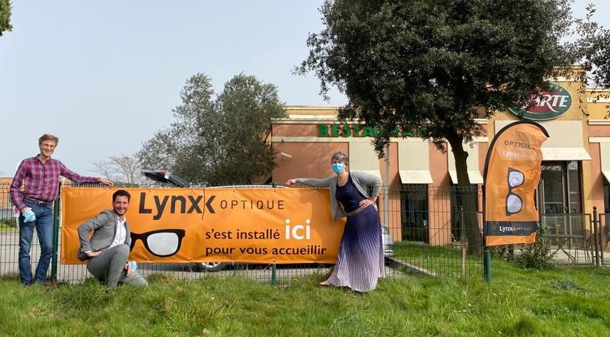 Lynx Optique chez Ristorante del arte