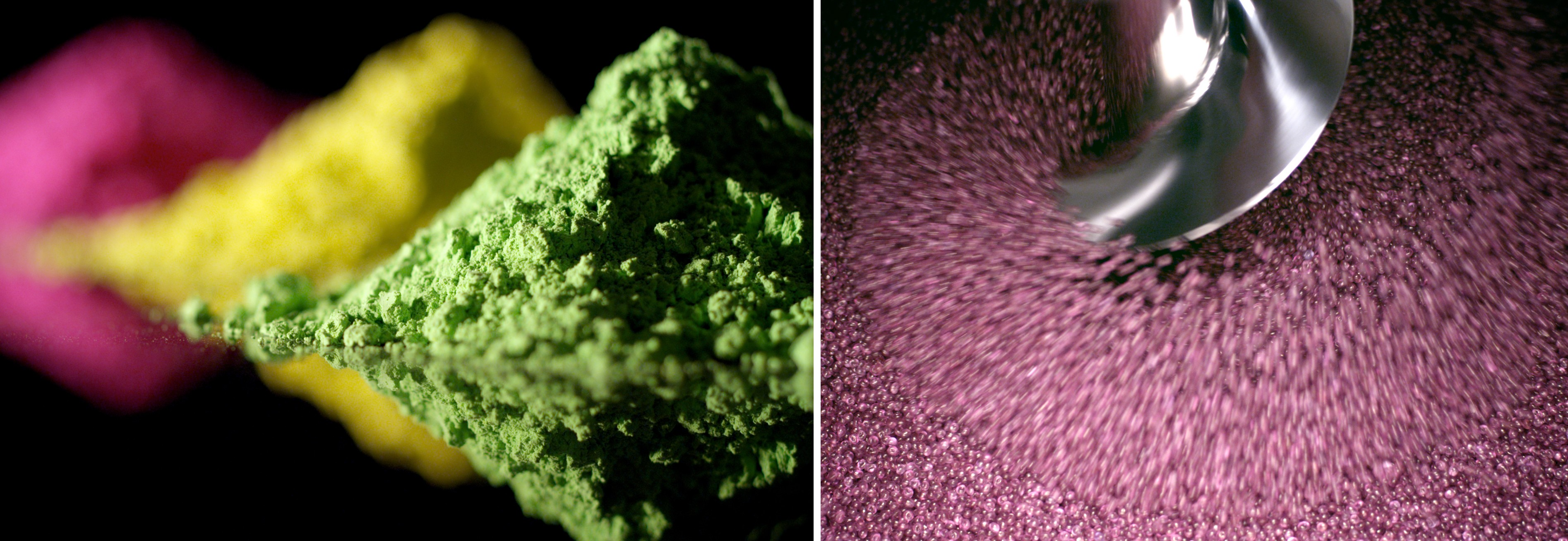 Acuité - Silhouette - Pigments et coloration de la matière première