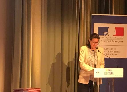 Conférence de presse D'Agnès Buzyn,ministre des Solidarités et de la Santé
