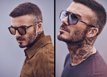 David Beckham a bien entendu posé pour sa collection