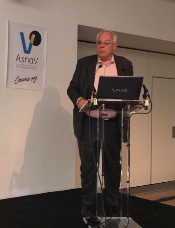 Bertrand Roy, président de l'Asnav