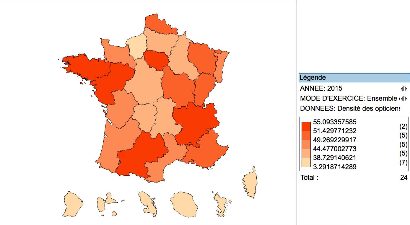 32 245 opticiens-lunetiers au 1er janvier 2015 en France (+11%)   Acuité 626e9cfa52b8