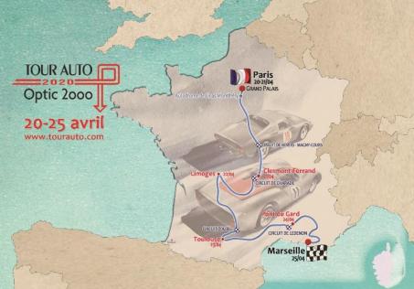 29e édition du Tour Auto Optic 2000