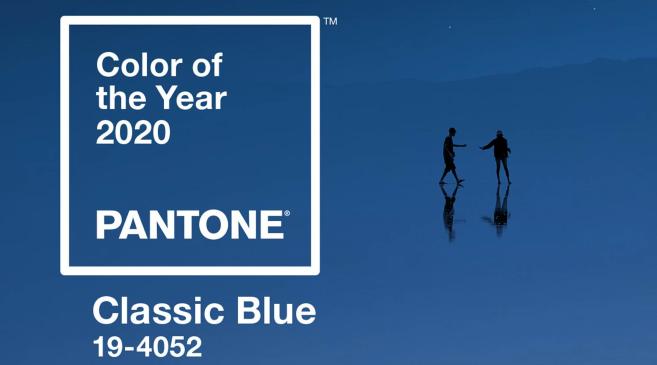 Couleur de l'année 2020 - Pantone