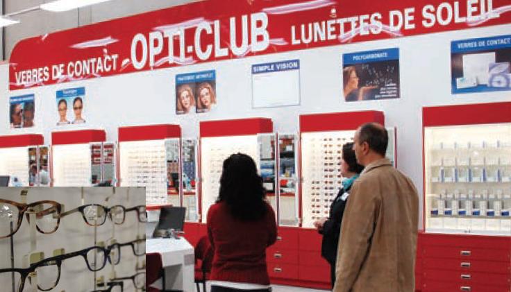 Outre-Atlantique, le géant de la distribution propose deux paires de  lunettes pour 69  (environ 61 euros). Il comptait déjà 662 sites optique en  Amérique du ... efe8fc41de58