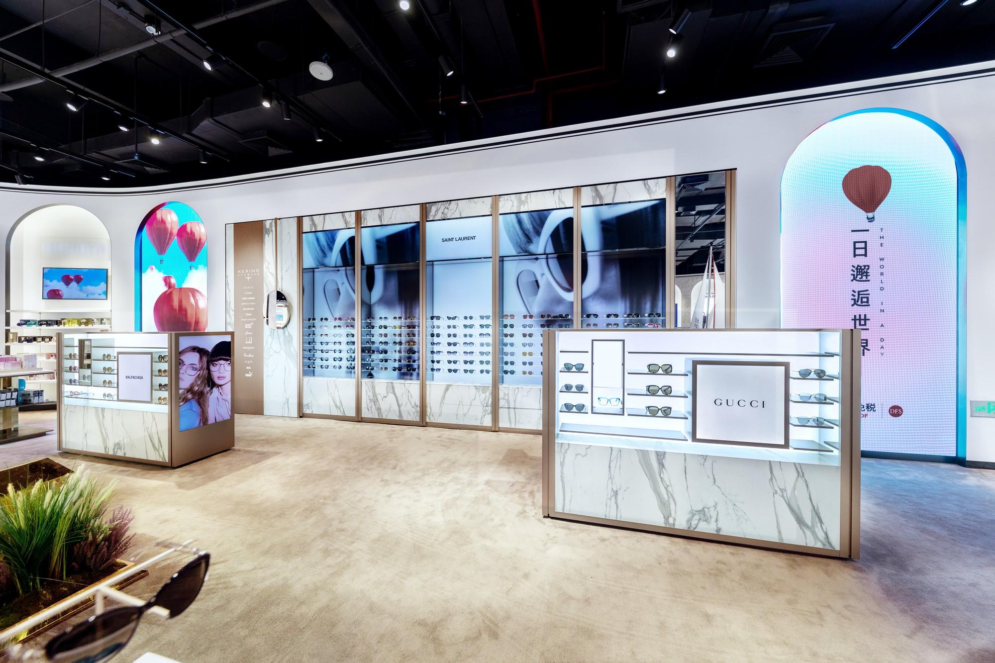 Digital Retail Concept de Kering Eyewear