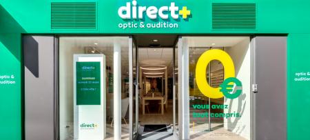Façade du magasin - Direct Optic