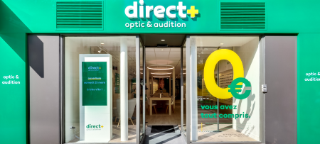 le premier magasin Direct Optic