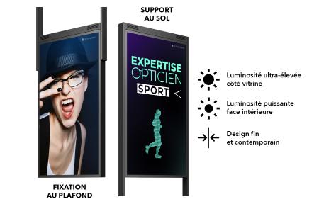 Ecran double face -Activ'screen