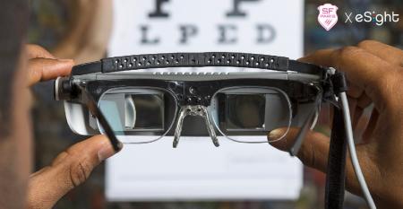 Les lunettes eSight 3 pour les malvoyants