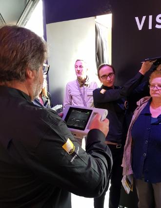 Tests de vue réalisés lors du Vision Tour 2018