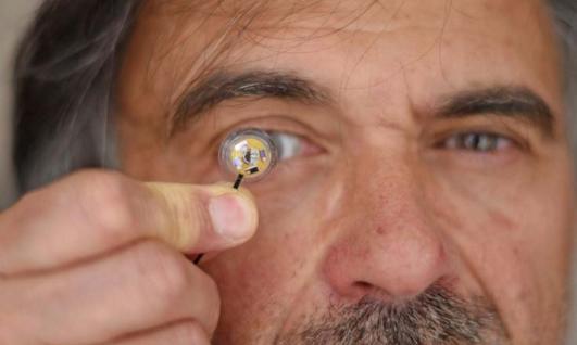 Jean-Louis de Bougrenet de la Tocnaye et la lentille de contact connectée