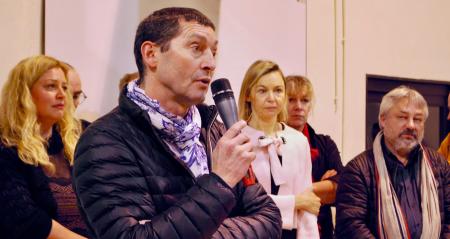 Jérôme Colin, président des Lunetiers du Jura