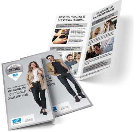 Brochure -label « Opticien Engagé »