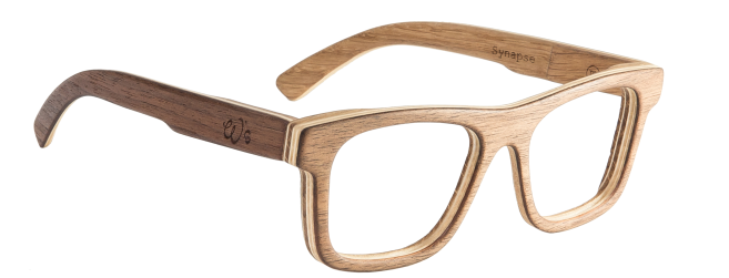 Les créateurs utilisent la technique du lamellé collé pour la fabrication de lunettes en  # Lunettes En Bois Vosges