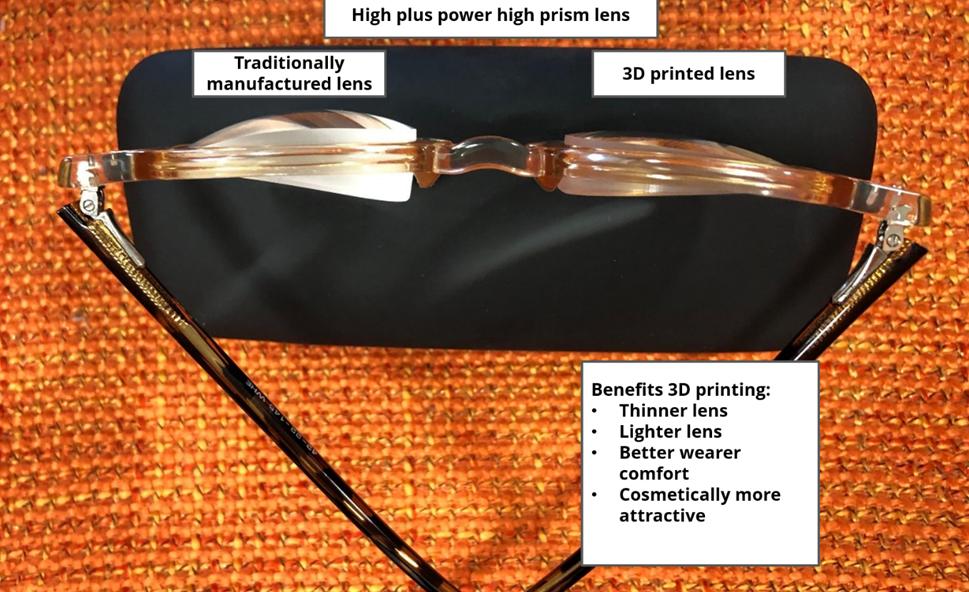 Verre prismatiqueen impression 3D -Luxexcel