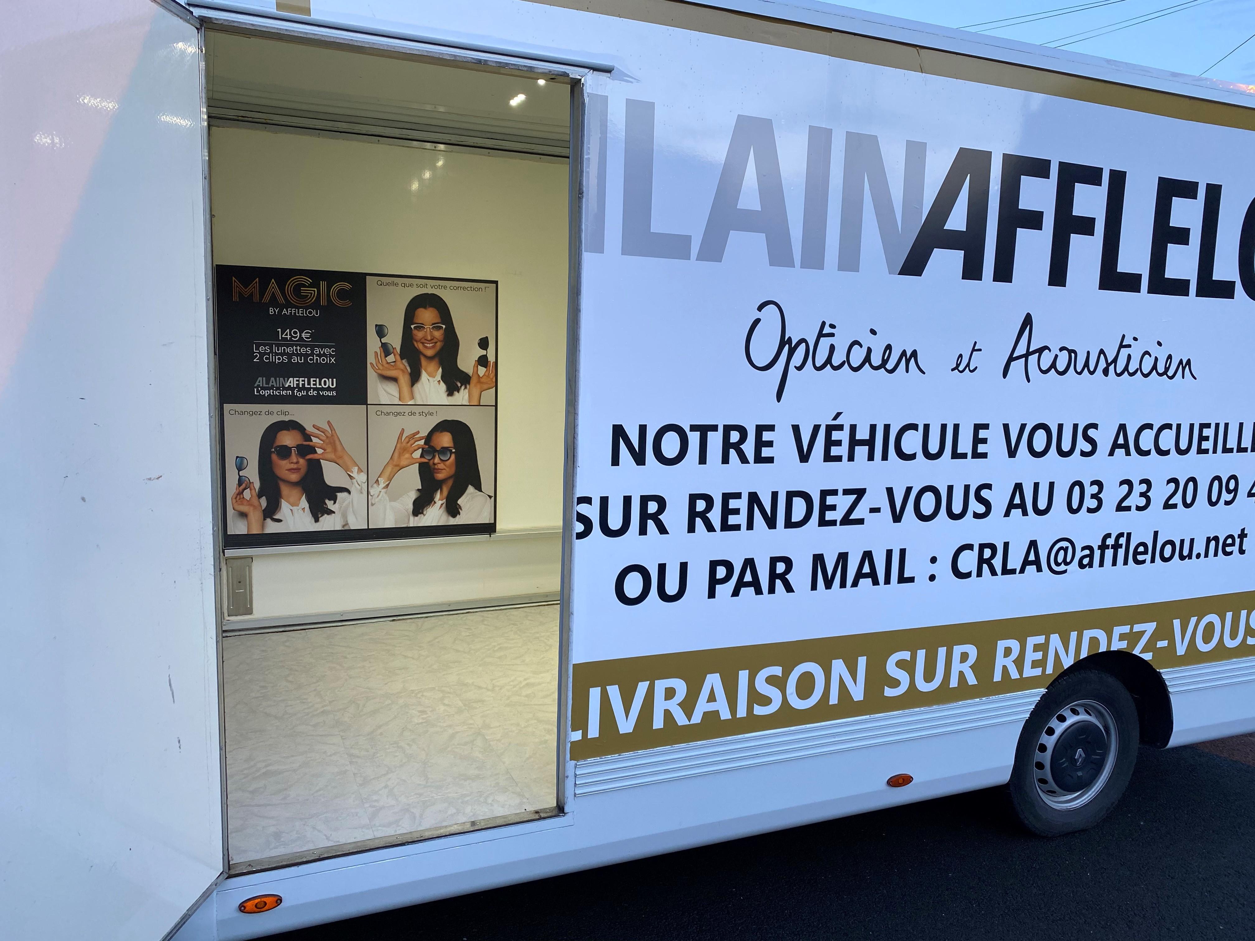Acuité - Camion Afflelou