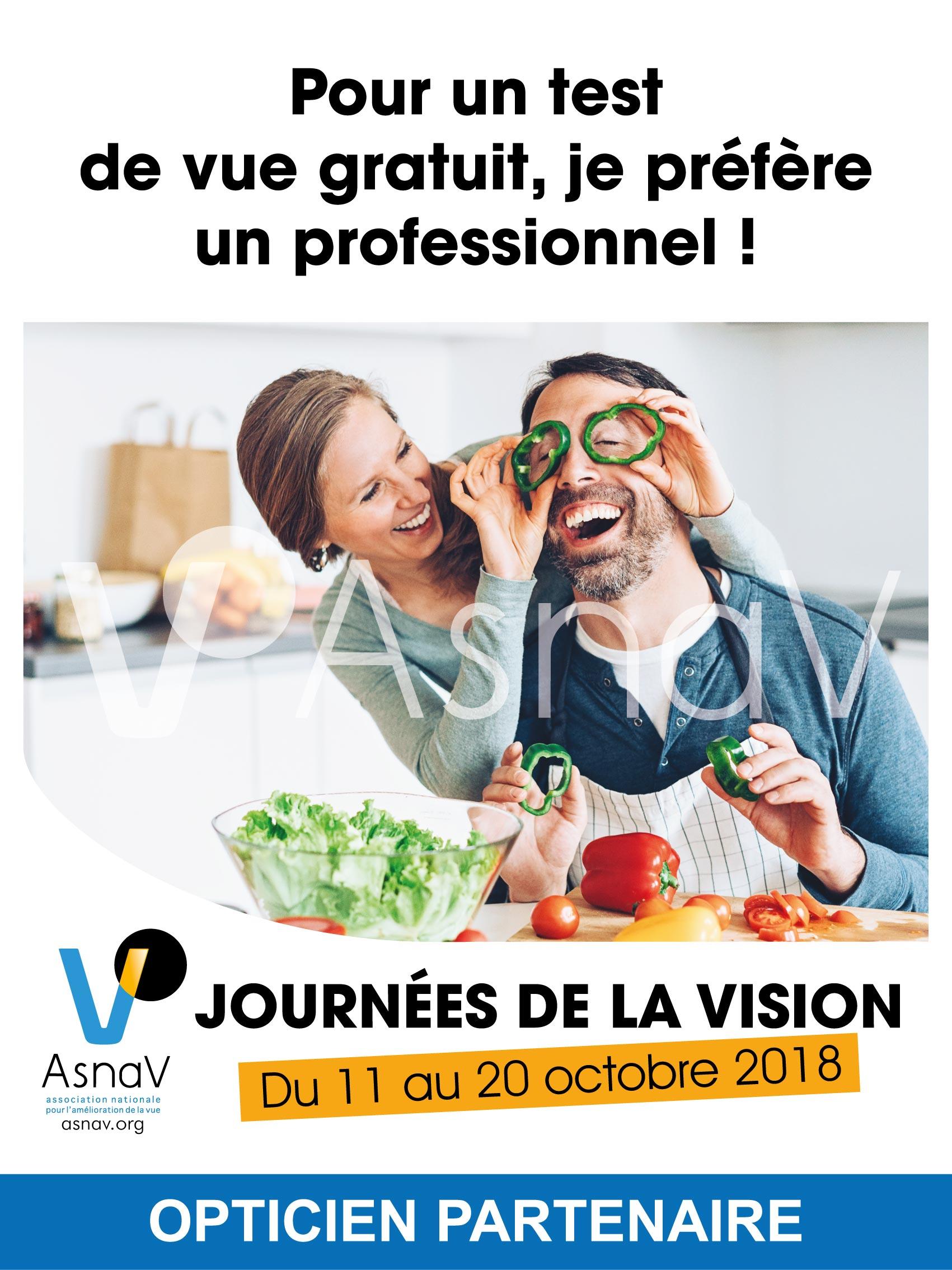 Asnav Journées de la vision