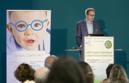 Le Pr. Nicolas Leveziel, chef du service ophtalmologie au CHU de Poitiers