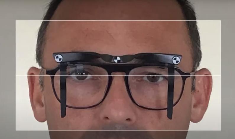 Mettre l'Ipad au niveau des yeux