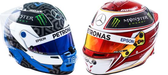 Police a signé un contrat de sponsoring avec Mercedes-AMG Petronas Motorsport