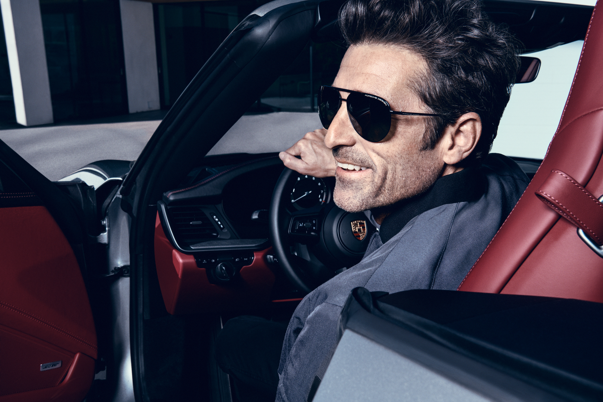 Patrick Dempsey, nouveau visage de Porsche Design