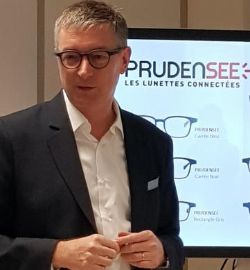 Didier Papaz, président du groupe Optic 2000