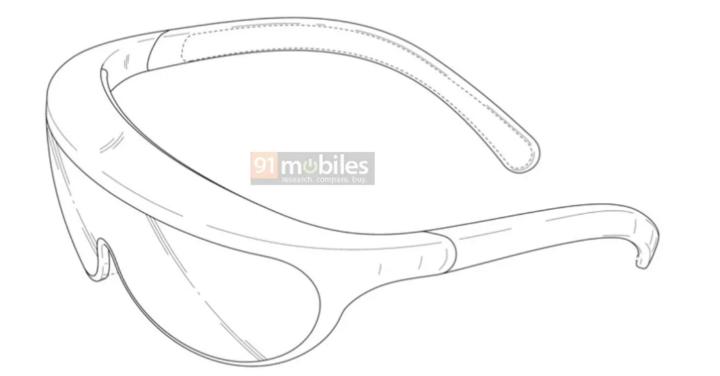 Nouveau brevetde lunettes à réalité augmentée - Samsung