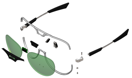 Technologie des lunettes Shetters