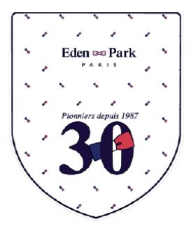 Profitez d'une vitrine « collector » Eden Park, pour les 30 ans de la marque