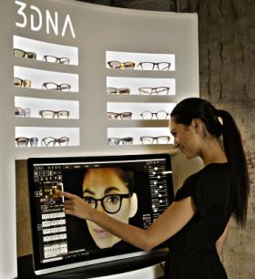 Concept de lunettes sur-mesure Eye-DNA : des évolutions importantes ont été réalisées
