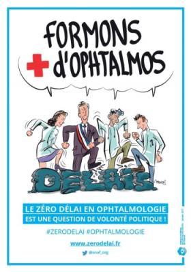 Présidentielle 2017 : les ophtalmologistes en campagne pour « Zéro délai en 2022 »