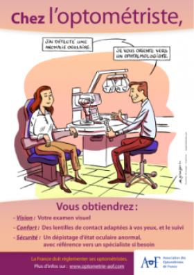 Optométrie : l'AOF signe une campagne de communication pour séduire le grand public