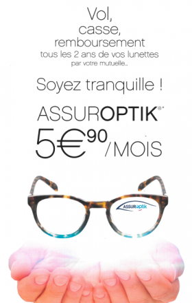 Assuroptik : Normarket et Gras Savoye proposent une assurance vol et casse de lunettes