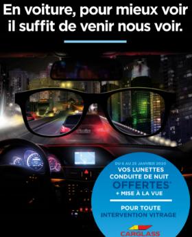 Atol et Carglass s'associent pour prévenir des dangers de la conduite de nuit