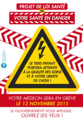 Black Friday : les ophtalmologistes s'associent à la grève du 13 novembre