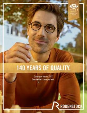 Rodenstock offre un relooking à son catalogue verres 2017