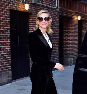 Cate Blanchett : des yeux de chat signés Tom Ford