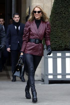 Céline Dion portant les Marylin de Max Mara