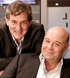 François Fort, PDG d'Opal et Gilles Demetz, directeur général chez Demetz
