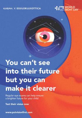Journée mondiale de la vue : 1ère participation en tant qu'entreprise unifiée pour EssilorLuxottica