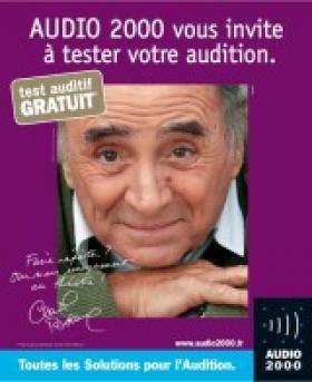 Audio2000, filiale du groupe Optic2000, choisit Claude Brasseur pour ambassadeur