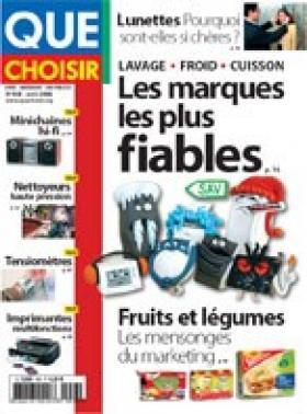 Le magazine Que Choisir compare les prix chez une soixantaine d'opticiens