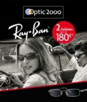 Optic 2000 lance une offre Ray Ban jusqu à la fin de l été   Acuité b88ae3495856