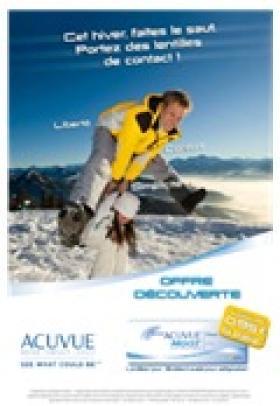 Acuvue booste la catégorie lentilles en France avec une vaste campagne en magasin