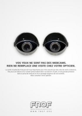 La Fnof lance une campagne contre la vente de lunettes sur Internet
