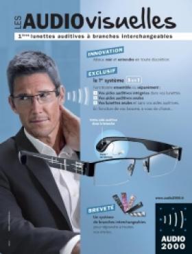 Le Groupe Optic 2000 lance des « lunettes pour entendre » à branches interchangeables