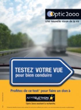 Optic 2000 poursuit ses actions pour l AFM-Téléthon   Acuité 0b0a610a33b4
