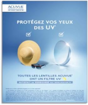 Protection UV : la campagne Acuvue a informé sur les risques pour les yeux