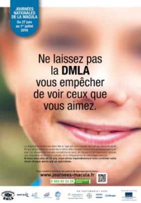 Top départ des 1res Journées nationales de la Macula : informez vos clients !